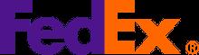 logo firmy kurierskiej FedEx